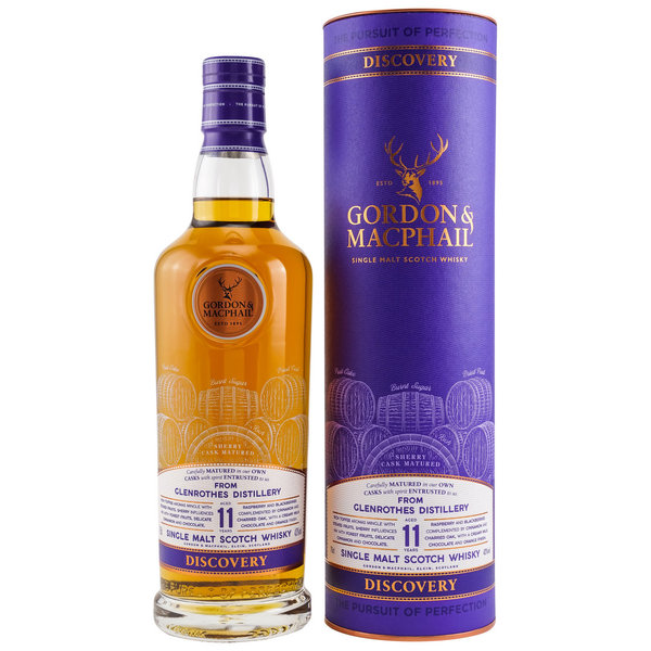Glenrothes 11 Jahre G&M Discovery NEW RANGE