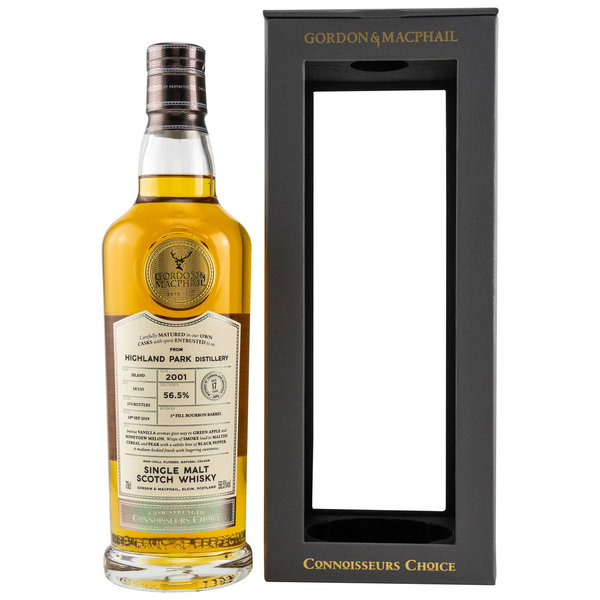 Highland Park 2001/2019 G&M Connoisseurs Choice