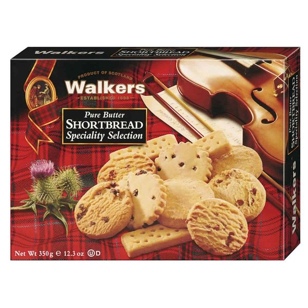 Shortbread speciality selection 350 g