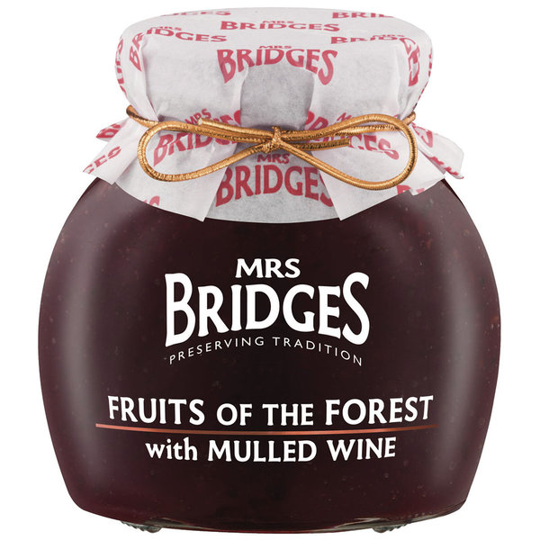 Mrs. Bridges Fruits of the forest with mulled wine 340 g