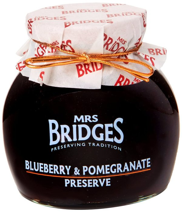 Mrs. Bridges Blueberry & Pomegranate Preserve 340 g