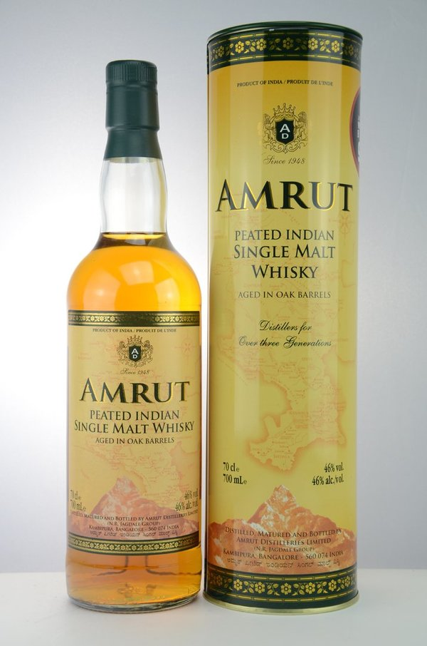Amrut Peated Indian Single Malt