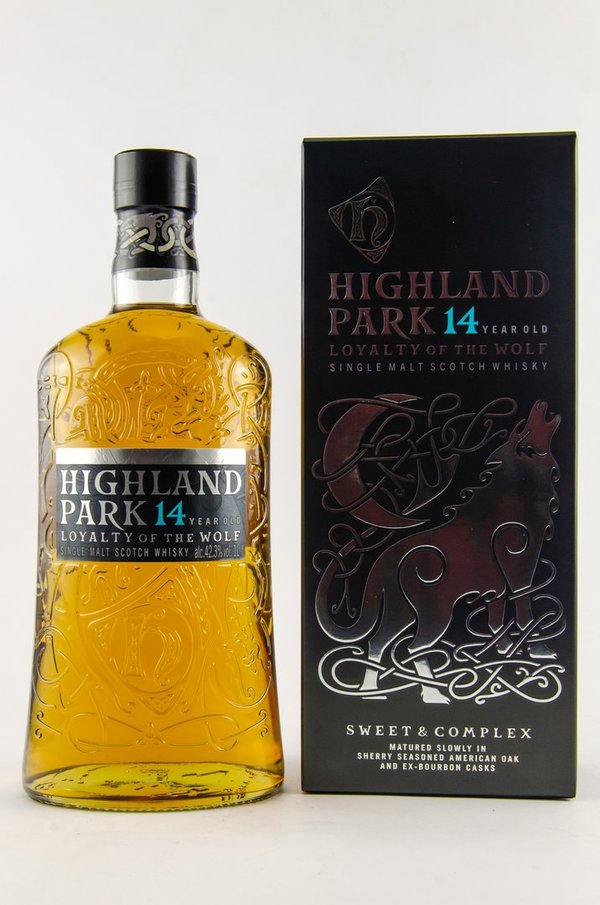Highland Park 14 Jahre Loyalty of the Wolf