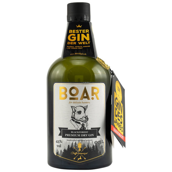Boar Gin - Black Forest Dry Gin