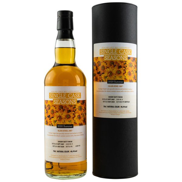 Blair Athol 2007/2020 Single Cask Seasons Summer 2020