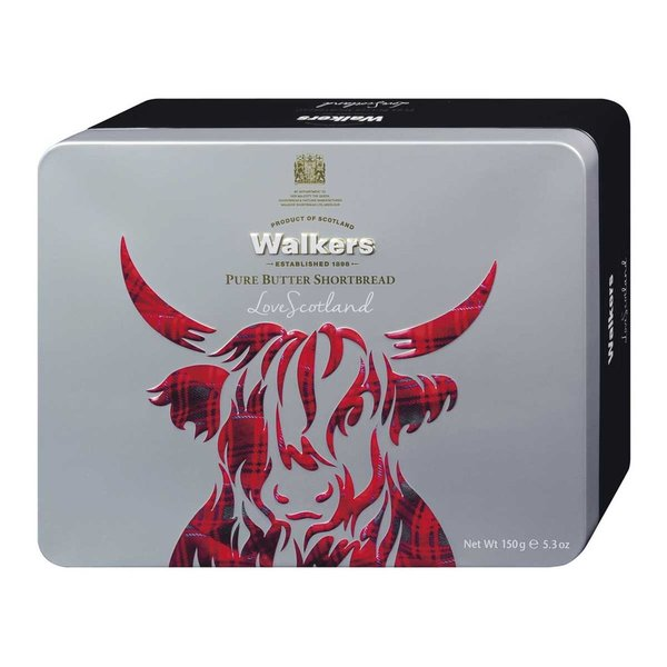 "Walkers Shortbread ""Highland Cattle"" 150 g"