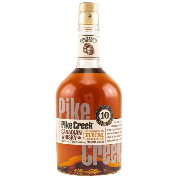 Pike Creek 10 Jahre Rum Barrel Finish Canadian Whisky