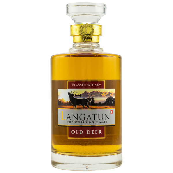 Langatun Old Deer Classic Swiss Single Malt Whisky