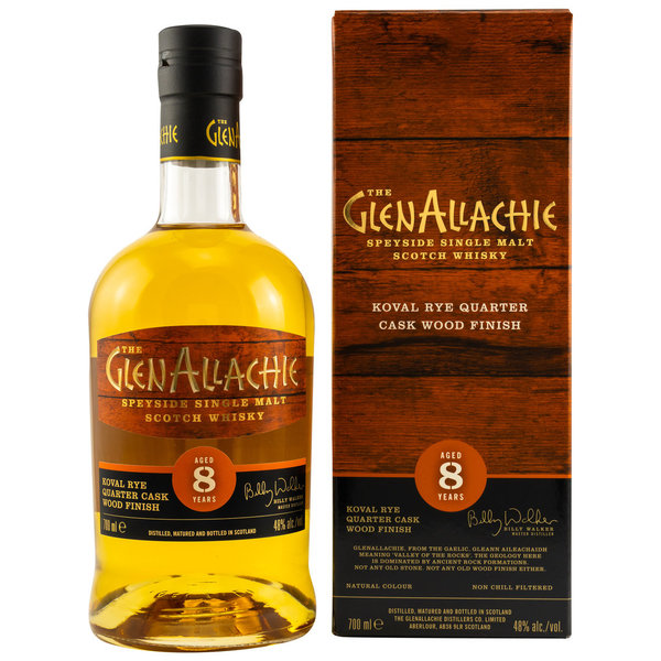 GlenAllachie 8 Jahre Koval Rye Wood Finish